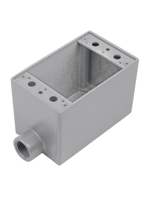 Thomas & Betts AFS-1 1-Gang 1/2 Inch Aluminum 1-Hole Dead End FS Box