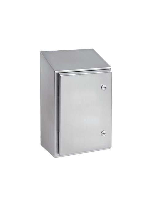 Hoffman WS242408SS 24 x 24 x 8 Inch 14 Gauge 304 Stainless Steel NEMA 4X Wall Mount Enclosure