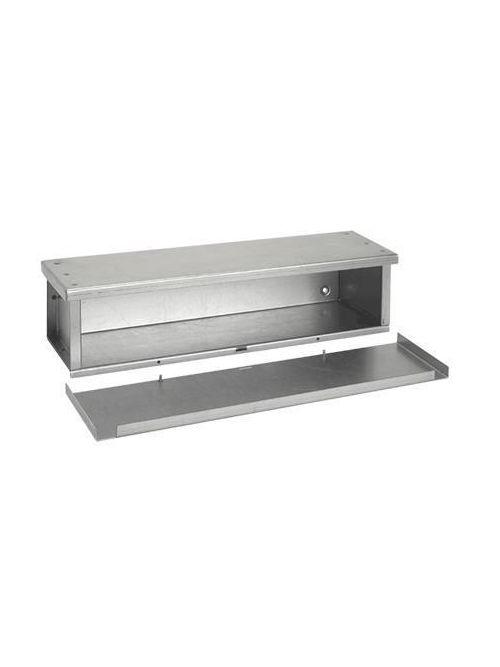 Hoffman F101060RTGV 10 x 10 x 60 Inch NEMA 3R Galvanized Steel Wiring Trough