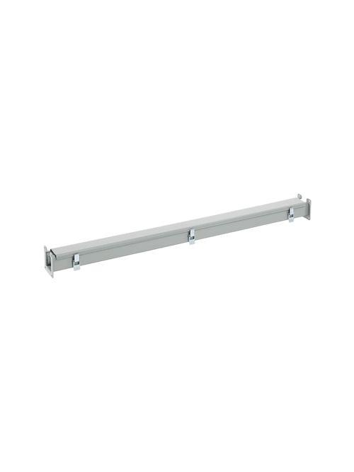 Hoffman F88L48 8 x 8 x 48 Inch NEMA 12 Gray Steel Lay-In Wireway Straight Section