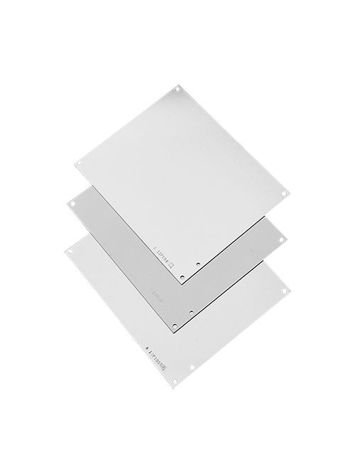 Hoffman A14P8G 12.75 x 6.88 Inch Galvanized Steel Enclosure Panel