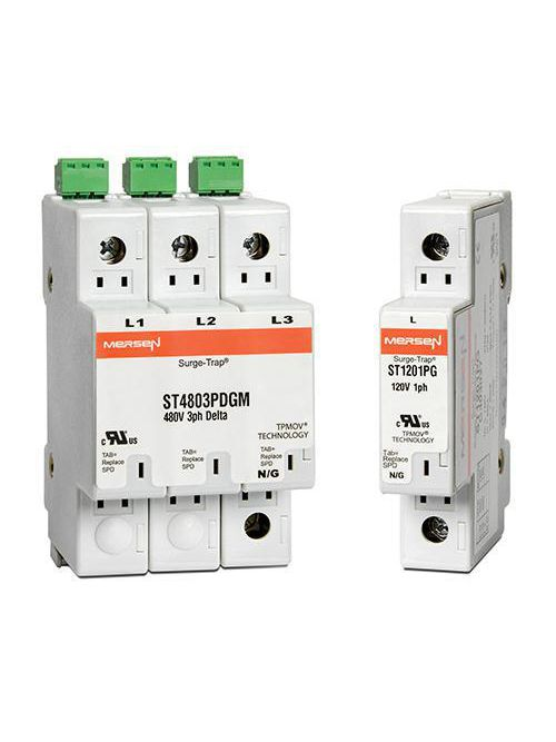 Mersen ST1201PG 1-Phase 20 kA 120 Volt Surge Protection Device