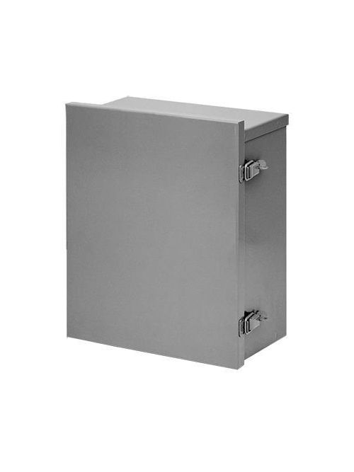 Hoffman A16R126HCLO 16 x 12 x 6 Inch 16 Gauge Galvanized Steel NEMA 3R Lift-Off Hinge Cover Enclosure
