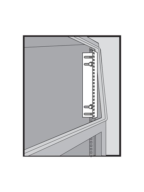 NVENT HOF PRA13TH Rack Angles,19 in