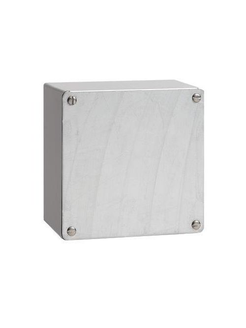 Hoffman A242412GSC 24 x 24 x 12 Inch 14 Gauge Galvanized Steel NEMA 3 Screw Cover Enclosure