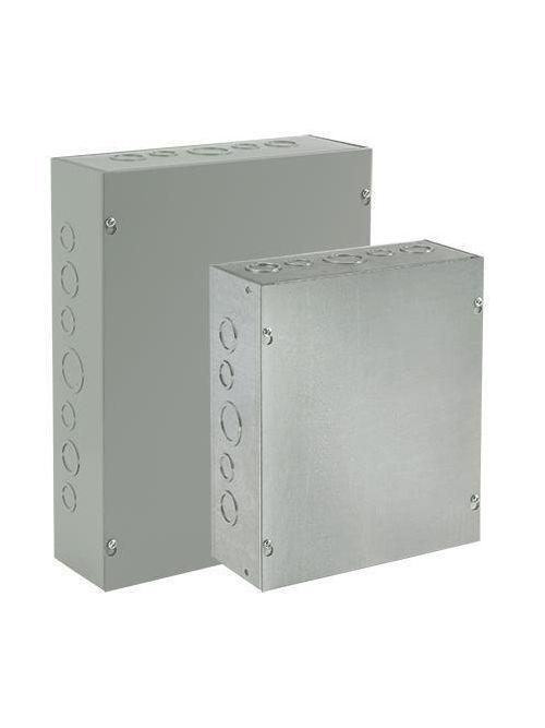 Hoffman ASE30X30X12NK Painted Steel NEMA 1 Screw Cover Pull Box