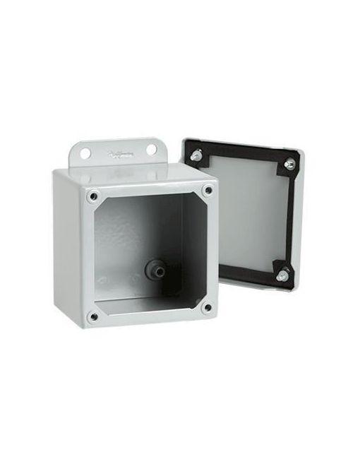 Hoffman A4044SC 4 x 4 x 4 Inch 16 Gauge Steel NEMA 12 Junction Box Screw Cover
