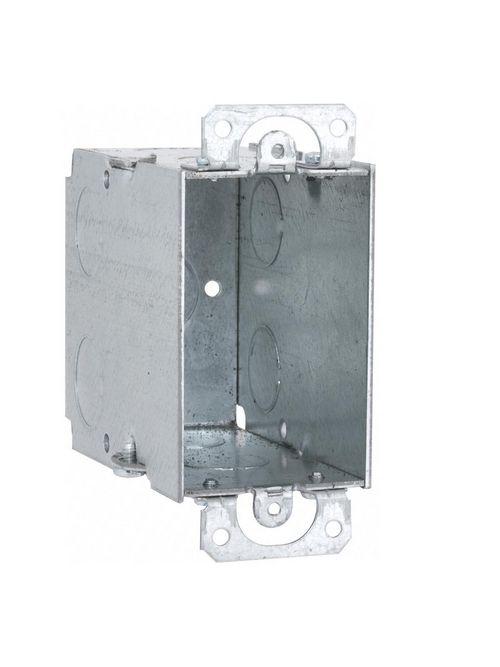 Raco 590 3 x 2 x 3-1/2 Inch 18 In Steel Gangable Switch Box