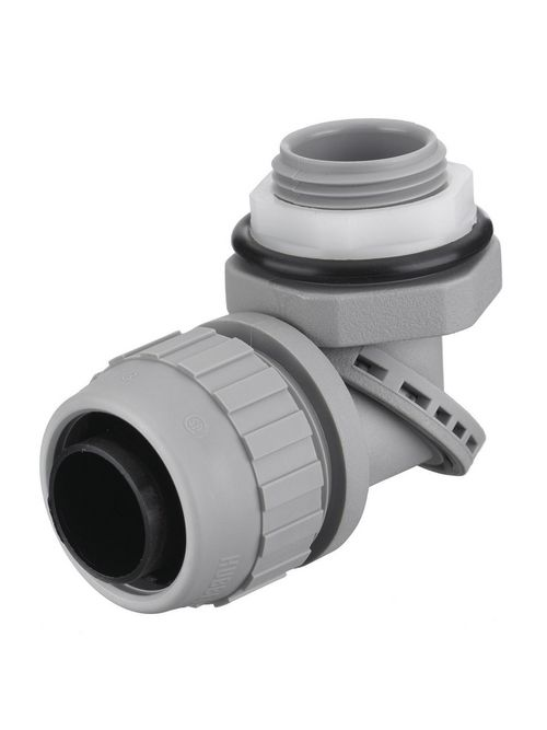 Hubbell Wiring Devices PS0759NGY 3/4 Inch Gray Male Non-Metallic Liquidtight Conduit