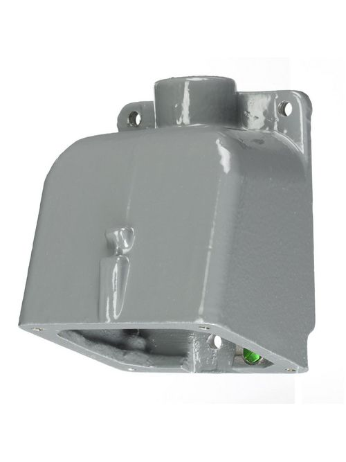 Hubbell Wiring Devices BB201W 3/4 Inch Metallic 15 Degrees Watertight IEC Pin and Sleeve Back Box