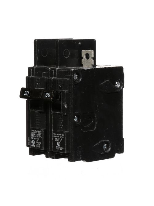 Siemens Industry BQ2B030 2-Pole 30 Amp 120/240 Volt 10 K Circuit Breaker