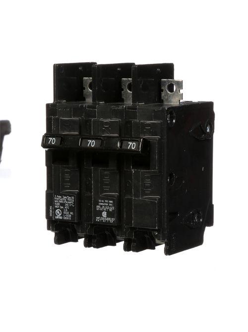 Siemens Industry BQ3B070 3-Pole 70 Amp 240 Volt 10 K Circuit Breaker