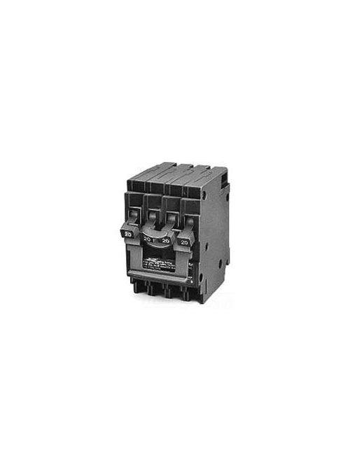 Siemens Industry Q23020 2-Pole 120/240 VAC 30/20 Amp 10 kA Plug-In Non-Common Trip Quadplex Circuit Breaker