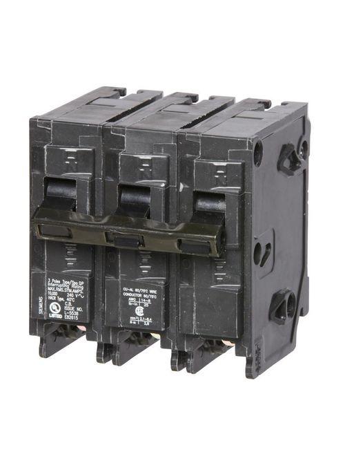 Siemens Industry Q360 Breaker 60 Amp 3-Pole 240 Volt Circuit Breaker