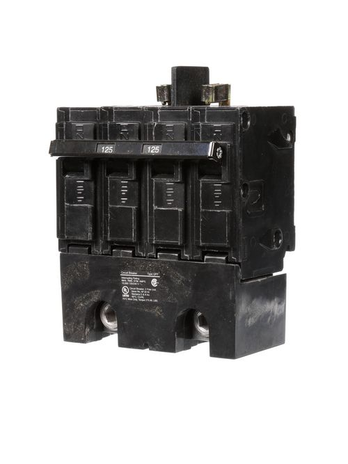 Siemens Industry Q2125B 2-Pole 120/240 VAC 125 Amp 10 kA Common Trip Molded Case Circuit Breaker