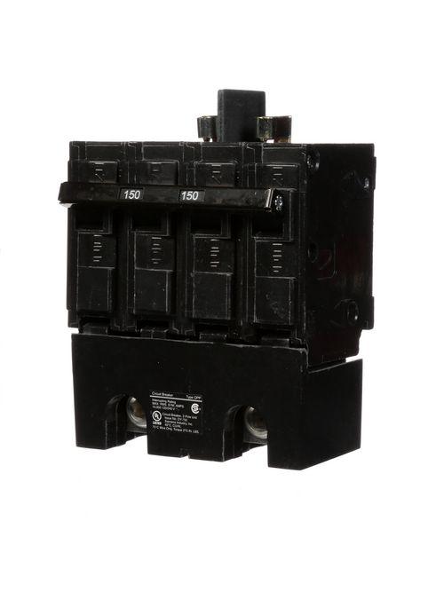 Siemens Industry Q2150B 2-Pole 120/240 VAC 150 Amp 10 kA Common Trip Molded Case Circuit Breaker