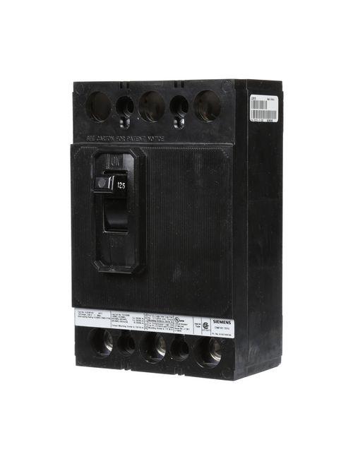 Siemens Industry QJ23B125 3-Pole 125 Amp 240 Volt 10 kA Circuit Breaker