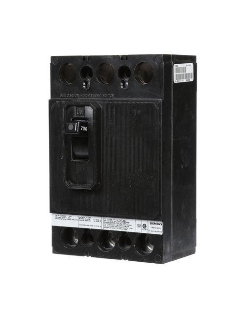 Siemens Industry QJ23B200 3-Pole 200 Amp 240 Volt 10 kA Circuit Breaker
