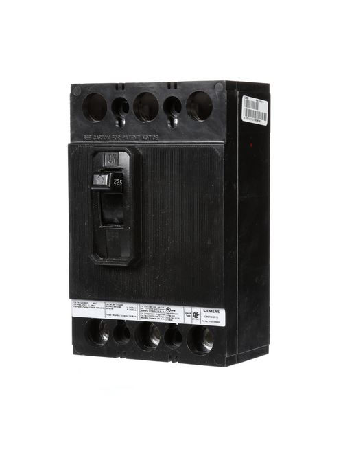 Siemens Industry QJ23B225 3-Pole 225 Amp 240 Volt 10 kA Circuit Breaker