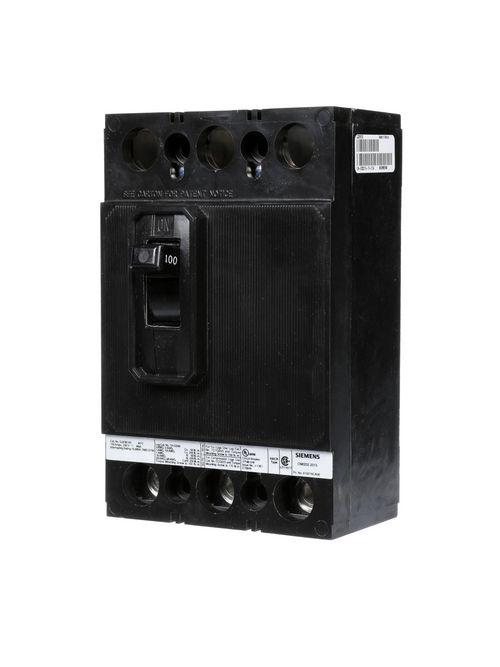 Siemens Industry QJ23B100 3-Pole 100 Amp 240 Volt 10 kA Circuit Breaker