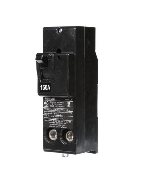 Siemens Industry QN2150 2-Pole 150 Amp 120/240 Volt 10 K Circuit Breaker