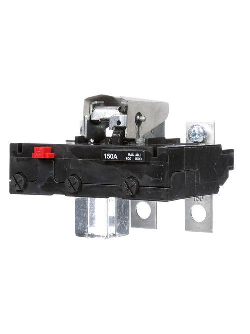 Siemens Industry FD63T150 3-Pole 150 Amp 600 VAC 22 kA Thermal Magnetic Molded Case Circuit Breaker Trip Unit