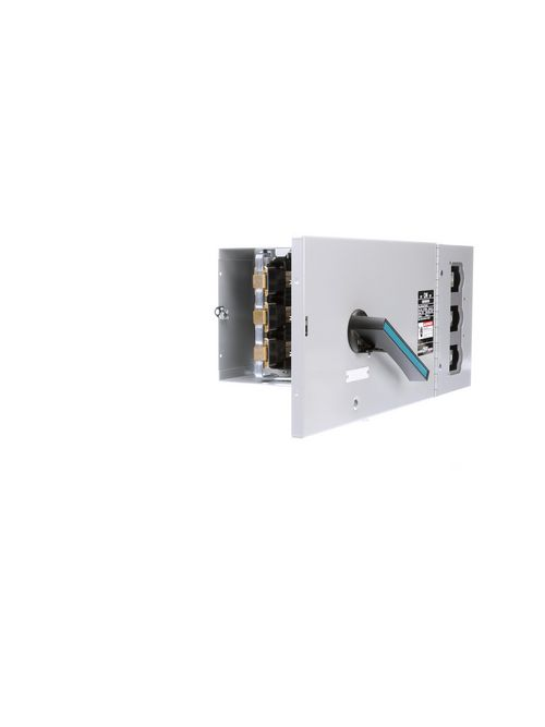 Siemens Industry V7F3604 480/600 VAC 200 Amp 50 Hp 6 AWG 3-Pole Single Disconnect Switch