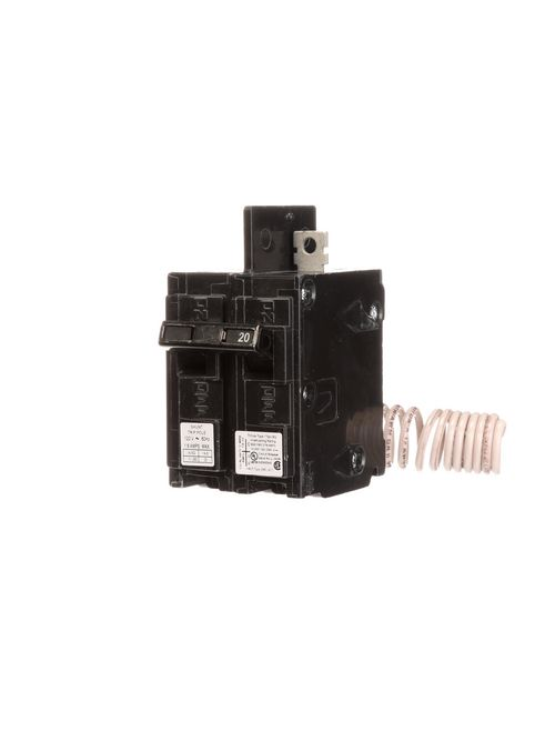 Siemens Industry BQ1B02000S01 1-Pole 20 Amp 120 Volt 10 K Circuit Breaker with 120 Volt Shunt Trip
