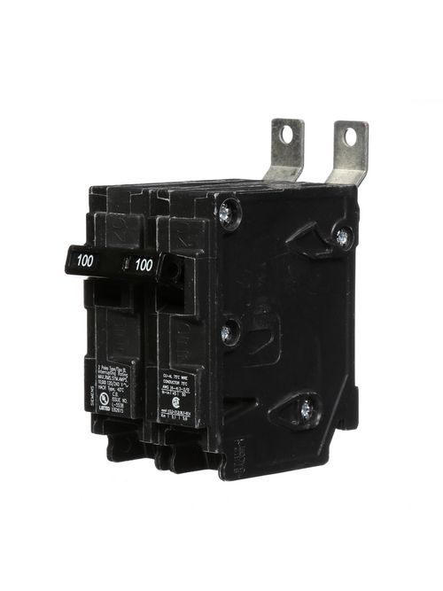 Siemens Industry B2100 2-Pole 100 Amp 120/240 Volt 10 K Circuit Breaker