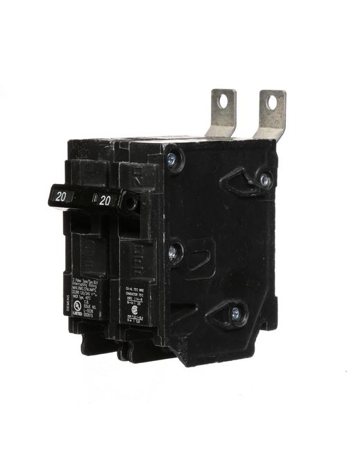 Siemens Industry B220H 2-Pole 20 Amp 120/240 Volt 22 K Circuit Breaker