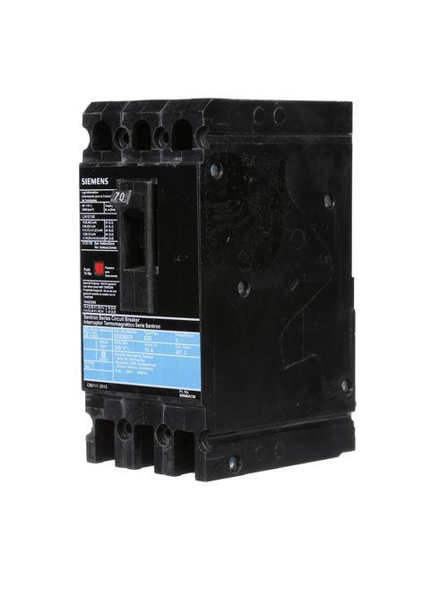 Siemens Ca ED23B070L ED MCCB,10kA@2