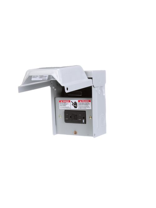 Siemens Industry WN2060GFCI 60 Amp 10 Hp 14 to 8 AWG G90 Galvanized Steel Non-Fusible Disconnect Switch