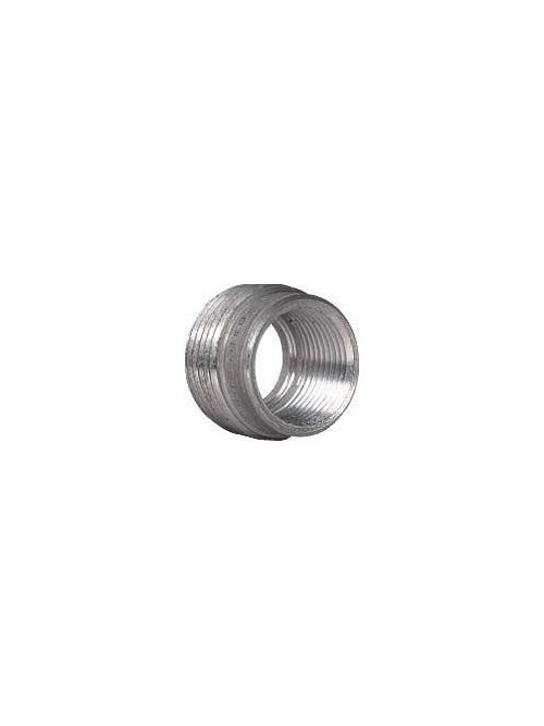 Hubbell Electrical Systems RE21S 3/4 to 1/2 Inch Zinc Plated Steel Reducing Bushing