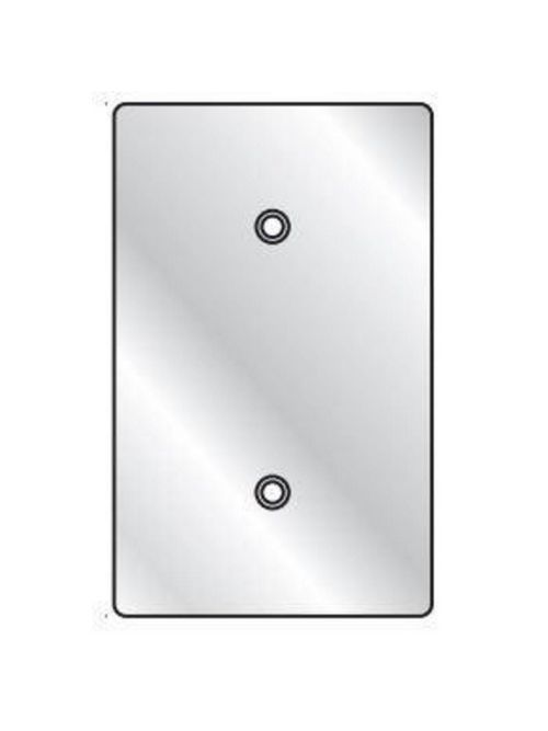 Hubbell Electrical Systems 1FBC 1-Gang Coated Blank Cover