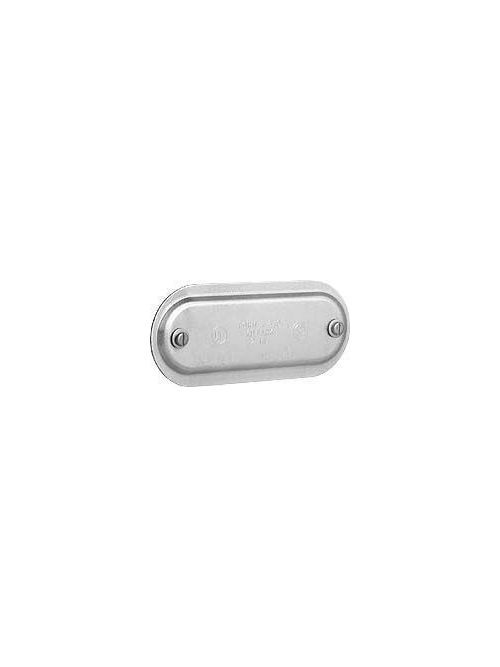 Hubbell Electrical Systems 870G 2-1/2-3 Inch Galvanized Steel Conduit Body Cover with Neoprene Gasket