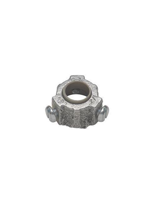 Crouse-Hinds Series 1035 1-1/2 Inch Malleable Iron 105 Degrees C Insulated Threaded Rigid Conduit Bushing