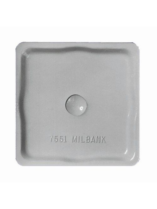 Milbank 11046 A7551 Interchangeable Unit Hub and Closing Plate