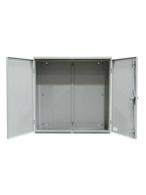 Milbank 363612-CT3R 36 x 36 x 12 Inch NEMA 3R ANSI 61 Gray Polyester Powder Coated G90 Galvanized Steel Panel Enclosure