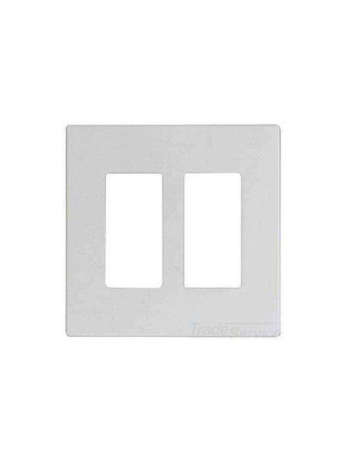 EWD PJS262W Wallplate 2G Deco Screw