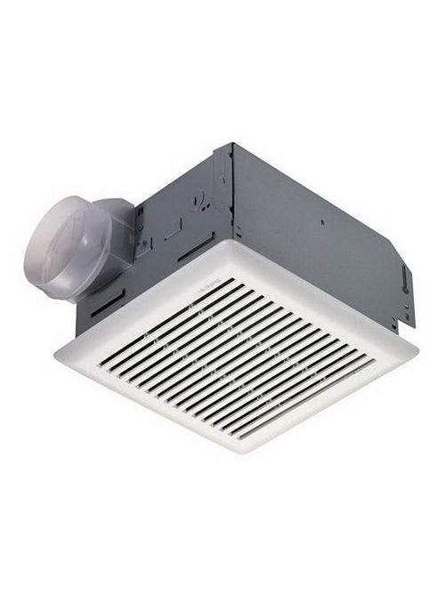 Broan 672R 0.7 Amp 110 CFM 4 Sones 10-1/2 x 10-1/4 Inch Grille Ventilation Fan