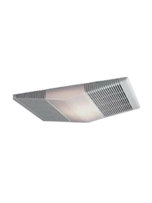 Broan 668RP 2 Amp 120 VAC 70 CFM 4 Sones Rectangular Textured Polymeric Grille Ventilation Fan with Lamp