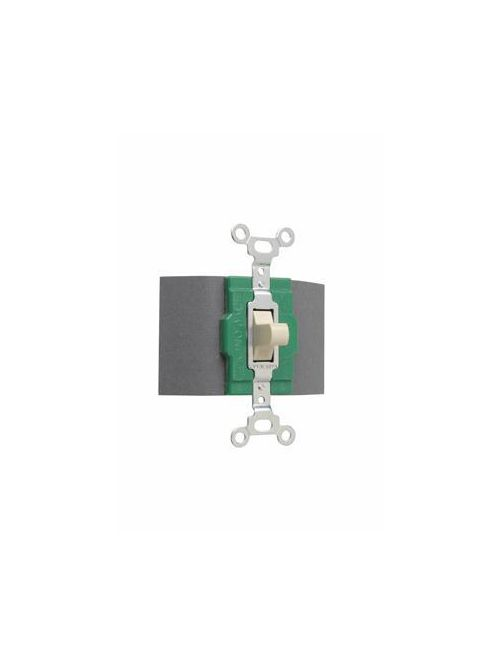Pass & Seymour 1256 120/277 VAC 30 Amp 2-Pole 3-Position Brown Momentary Manual Controller Switch
