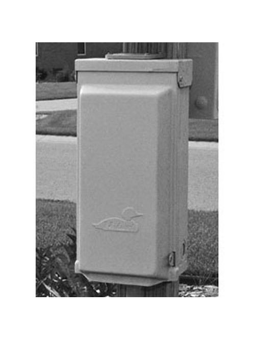 Midwest Electric Products U101C 120/240 Volt 100 Amp Galvanized Steel Unmetered Power Outlet
