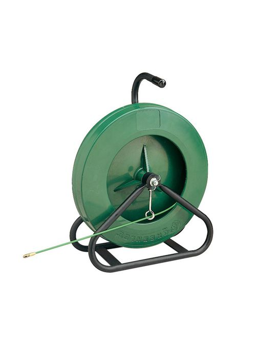 Greenlee 542-200 3/16 Inch 300 lb Fiberglass 1-Piece Handle Case Fish Tape