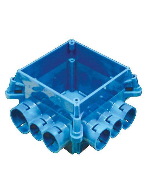 """Carlon A863-4SQ ENT 4"""" Square Mud Box w/ 4"""" Square Ring, Non-Metallic"""