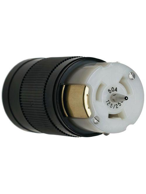 Pass & Seymour CS8164 50 Amp 480 VAC 3-Phase 4-Wire Non-NEMA Nylon Locking Connector