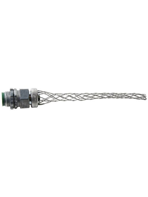"""Pass & Seymour BOX40 1/2"""" NPT 0.4 to 0.54"""" 370 lb Heavy Duty Dusttight Straight Male Strain Relief Wire Grip"""