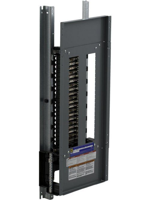 Square D NQ442L2C 240 VAC 48 VDC 225 Amp 3-Phase 4-Wire 42-Circuit Panelboard Interior