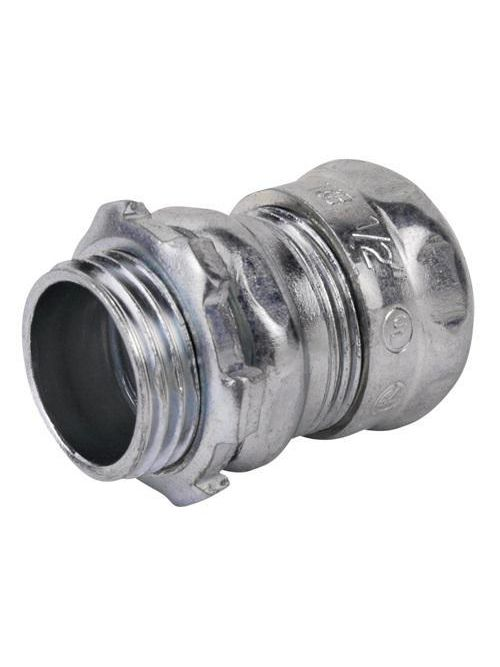 "Steel City TC118A 3"" EMT Compression Connector - Non-Insulated"