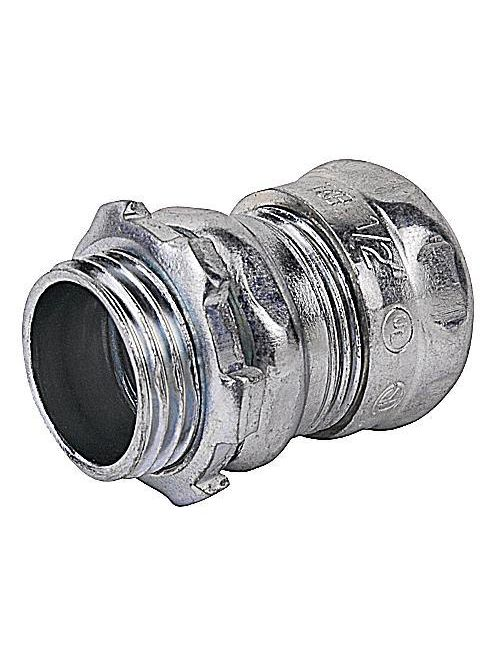 """Steel City TC1110A 4"""" EMT Compression Connector - Non-Insulated"""